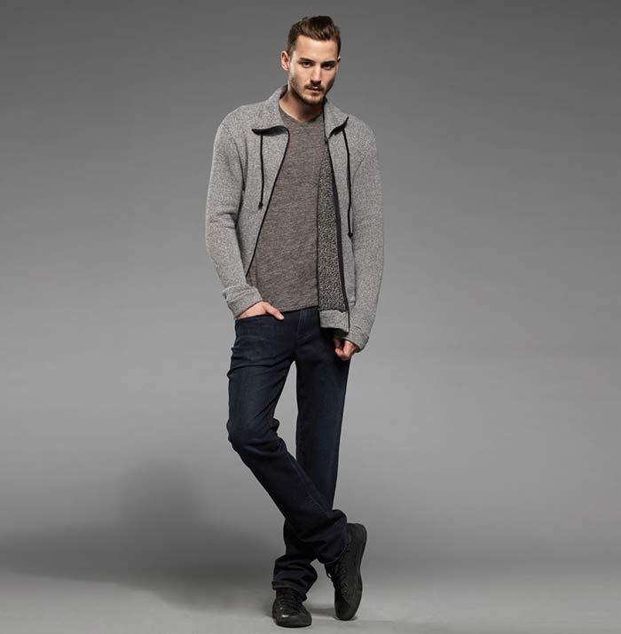 Черные мужские джинсы фото