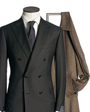 Мужской пиджак с четырьмя пуговицами