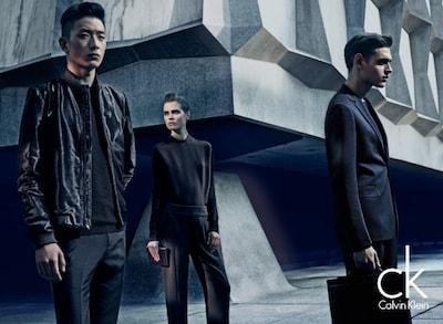 Джинсовая одежда Calvin Klein