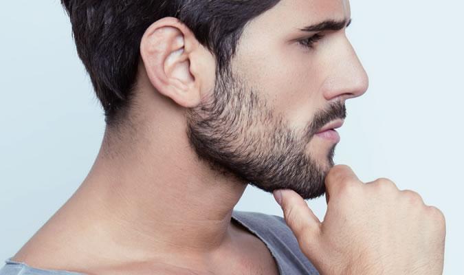 Придайте форму бороде