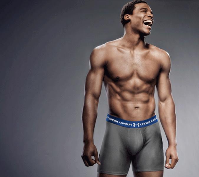 модель спортивное белье