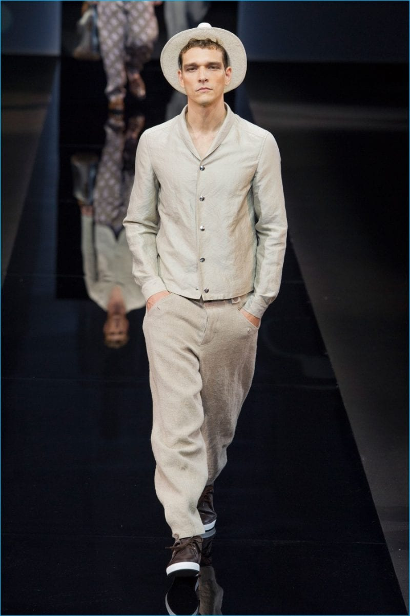Giorgio Armani 2017 Spring Summer Mens Runway Collection