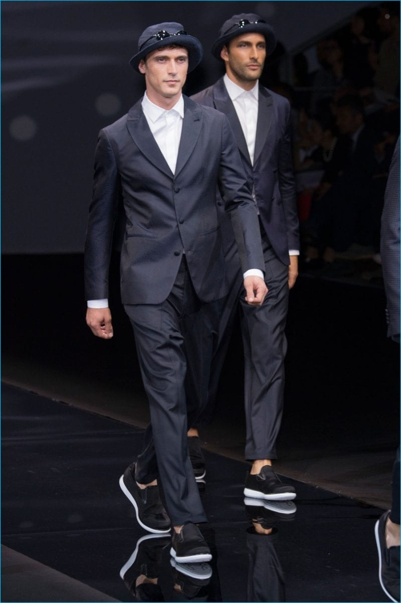 Giorgio Armani 2017 Spring Summer Mens Runway Collection 63