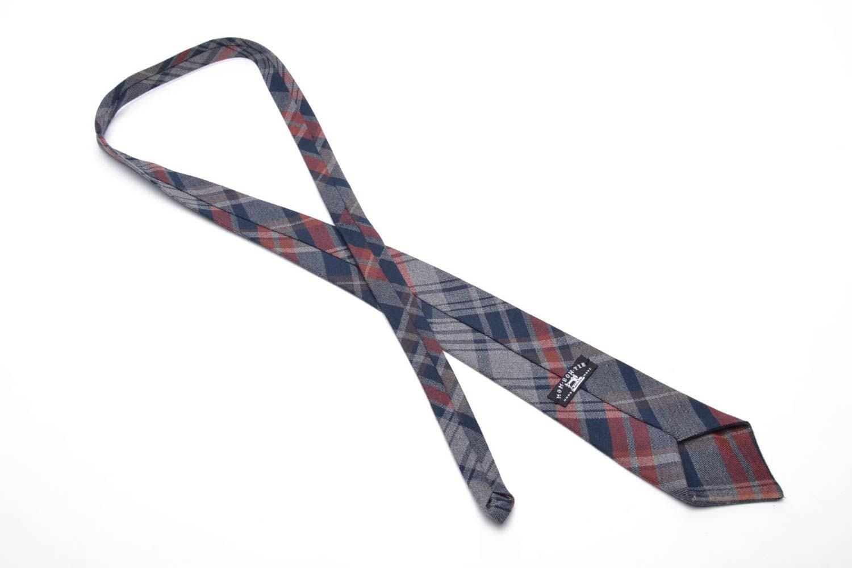 галстук ручной работы