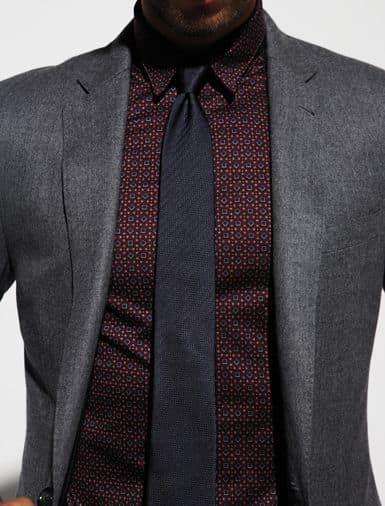 Подбор галстука к темной рубашке