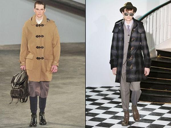Пальто дафлкот для мужчин
