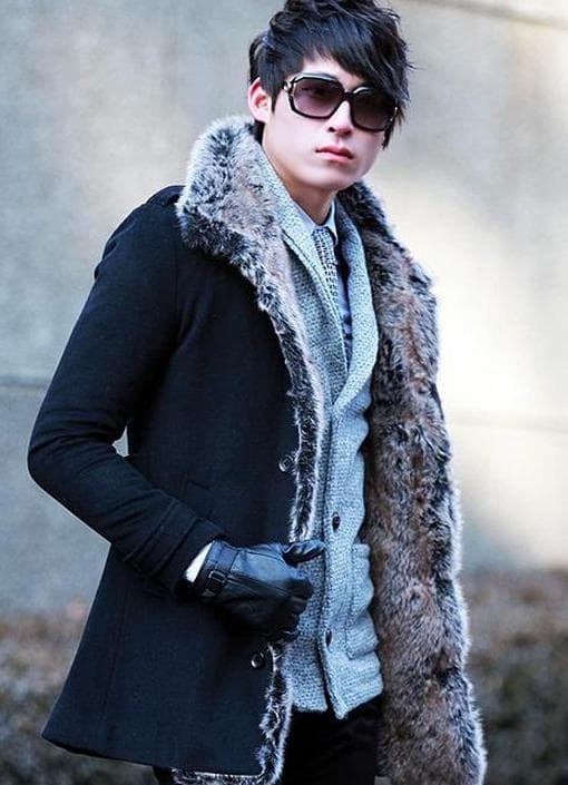 Виды зимнего мужского пальто