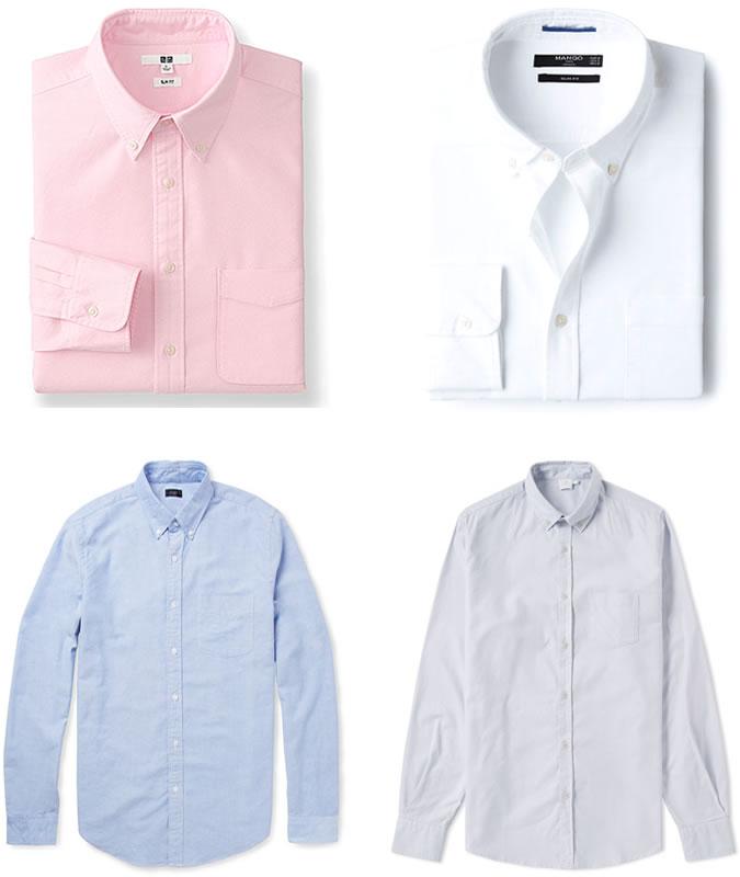 примеры мужских рубашек