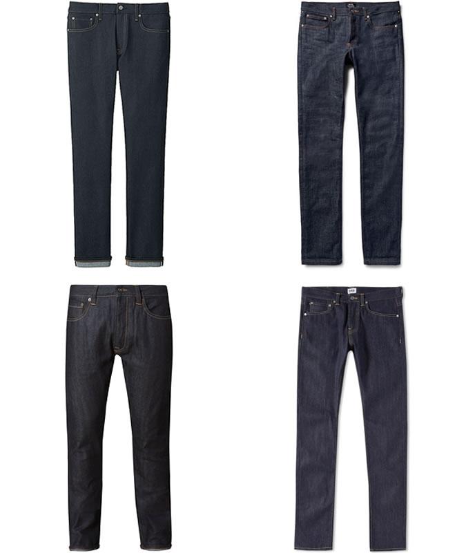 джинсы селвидж