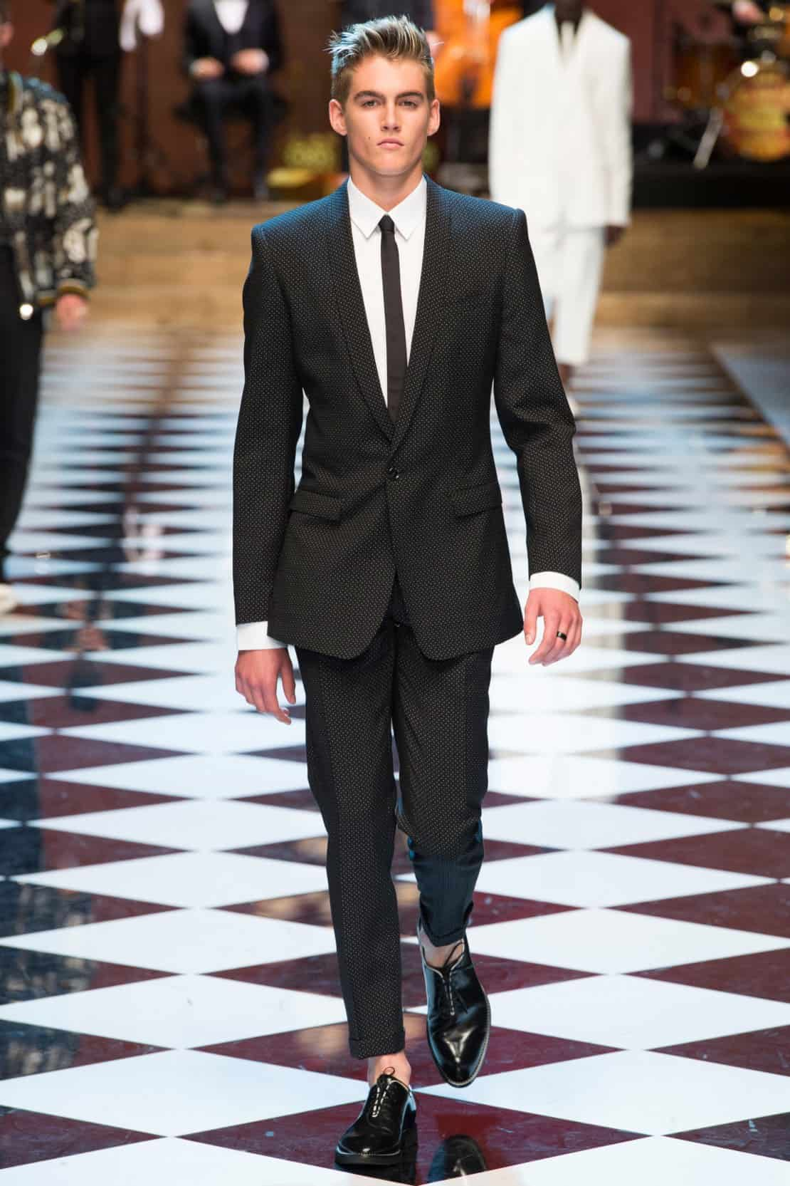 Dolce and Gabbana Menswear Spring Summer 2017 foto 1