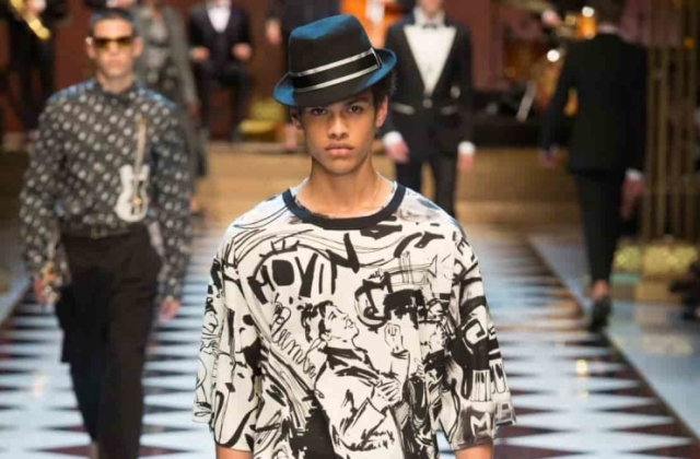 Dolce and Gabbana Menswear Spring Summer 2017 foto 4
