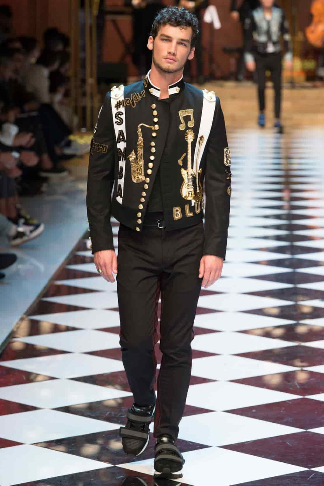 Dolce and Gabbana Menswear Spring Summer 2017 foto 77