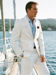 летний итальянский мужской костюм