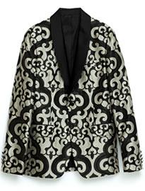 узорчатый пиджак 1