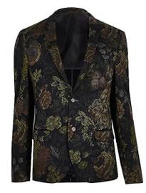 узорчатый пиджак 4