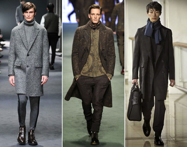e97dff17372 Популярные фасоны мужских пальто в условиях современной мужской моды
