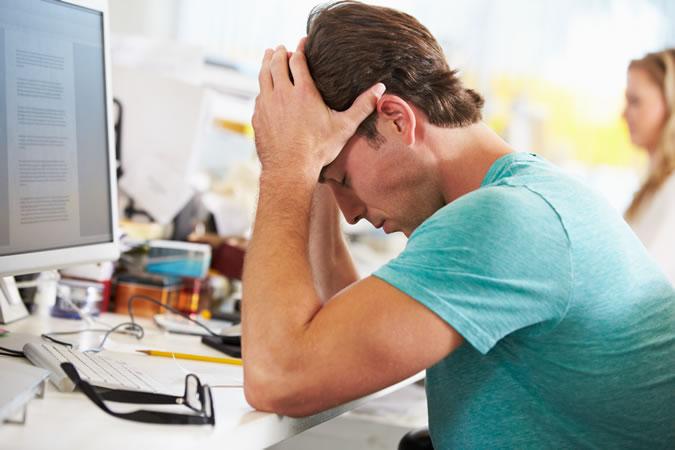 стресс на работу