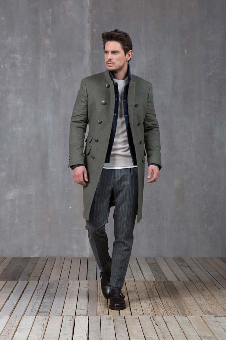 Пальто от Brunello Cucinelli, Hermes и Bespoken