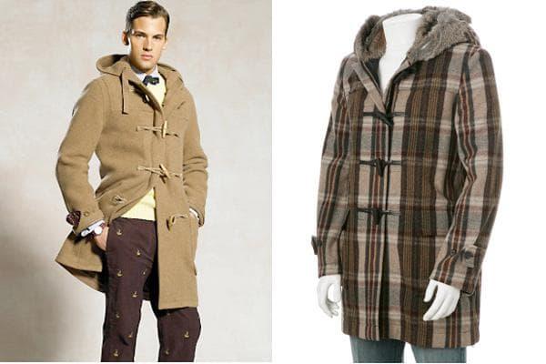 Классическое пальто дафлкот