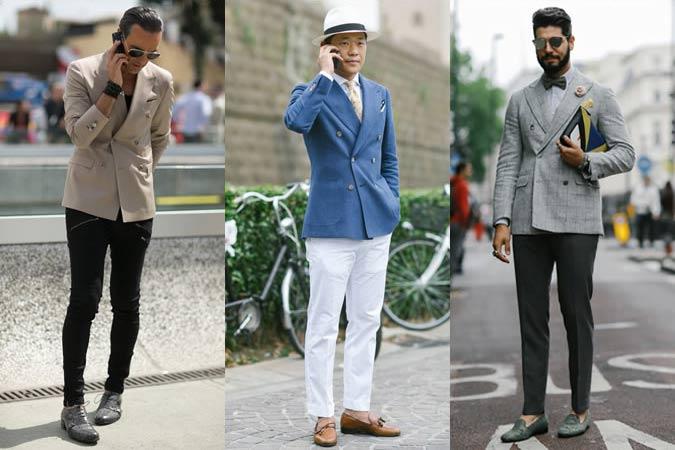 Двубортные пиджаки и блейзеры