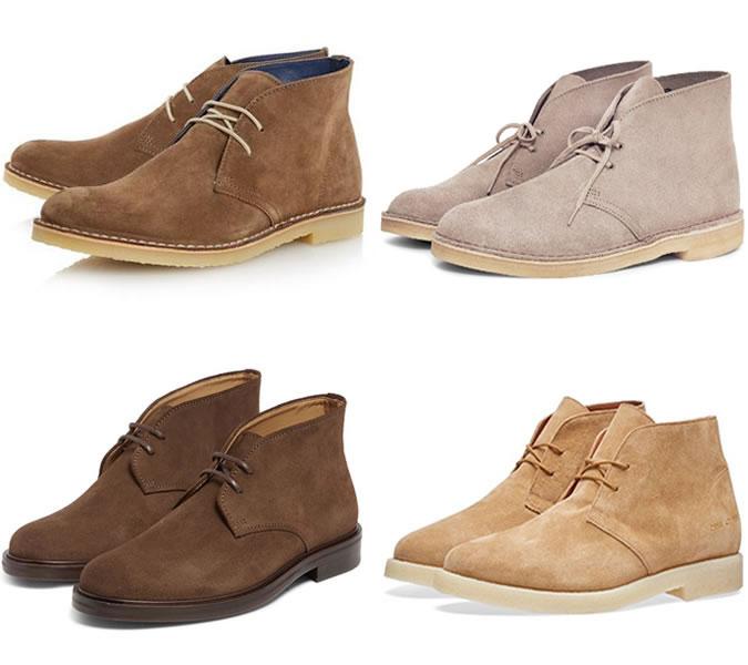 пустынные ботинки