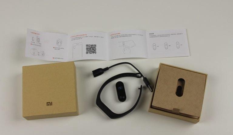 Комплектация Xiaomi Mi Band 2