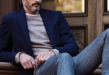 Сочетание брюков и пиджаков