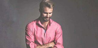 как носить розовую рубашку