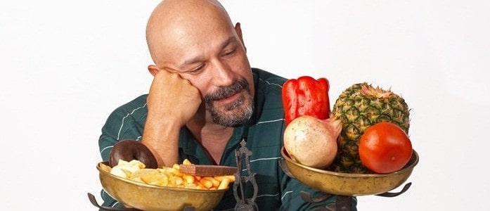 Облысение при неполноценном питании
