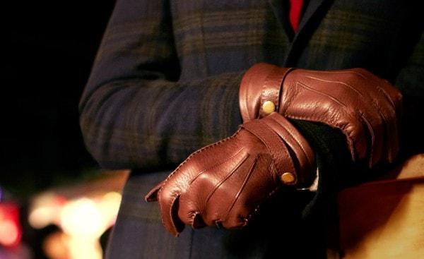 Стильные мужские перчатки