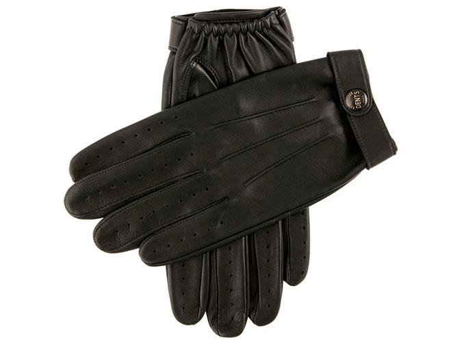 Зимние водительские перчатки