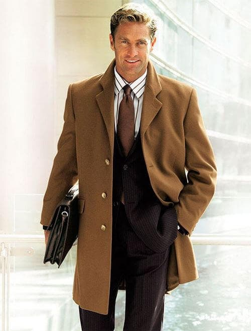 Базовое мужское пальто